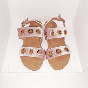 3634a55264a9 Yoki velvet sandals